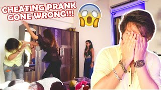 Cheating Prank Gone Wrong!!! | Danish & Sana