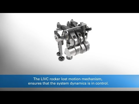Eaton Late Intake Valve Closing (LIVC) allows improving engine efficiency & help thermal management