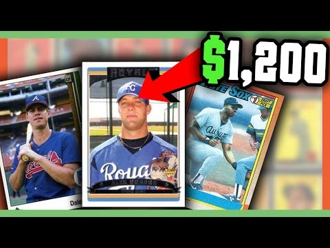 Rare Error Baseball Cards Worth Money Valuable Cards To