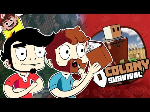 THE BOYS ARE BACK IN TOWN! (Colony Survival Multiplayer)