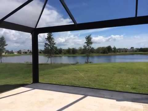 Absolute Aluminum Picture Window Pool Cage Youtube