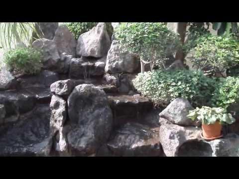 Solar Waterfall