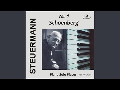 3 Klavierstucke, Op. 11: No. 3. Bewegt