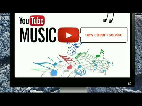 the new youtube music streaming service has launched  in [HINDI】
