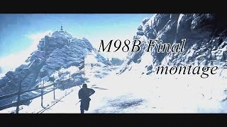 [PS4][BF4] PS4 M98B 世界ランカー1位 Final Montage