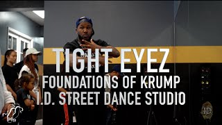 Tight Eyez | Foundations of Krump (Upper Body Pt. 1) Workshop | I.D. Street Dance | #SXSTV