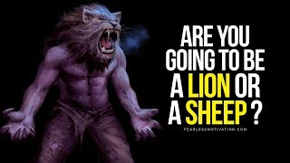 Are You Going To Be A LION or a SHEEP? 🔥 BEAST MODE SPEECH 🔥 Gym Motivation!