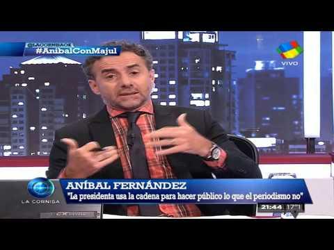 Aníbal Fernández y Majul: un mano a mano imperdible