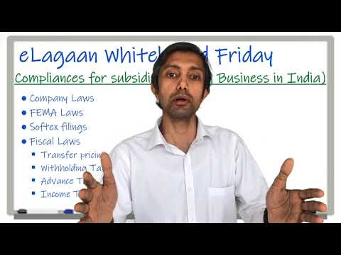 Compliances for an Indian Subsidiary - Doing Business in India [Whiteboard Friday]