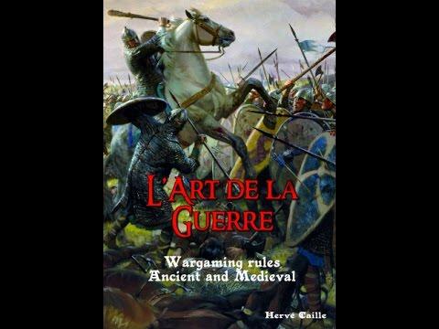 The Wall of Shields: BatRep L'Art de la Guerre (How to...)