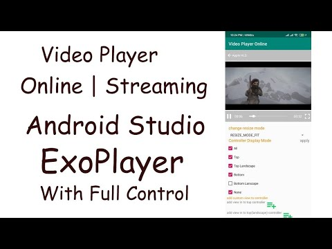 Play Video Online Android Studio || From URL || Souce Code Github