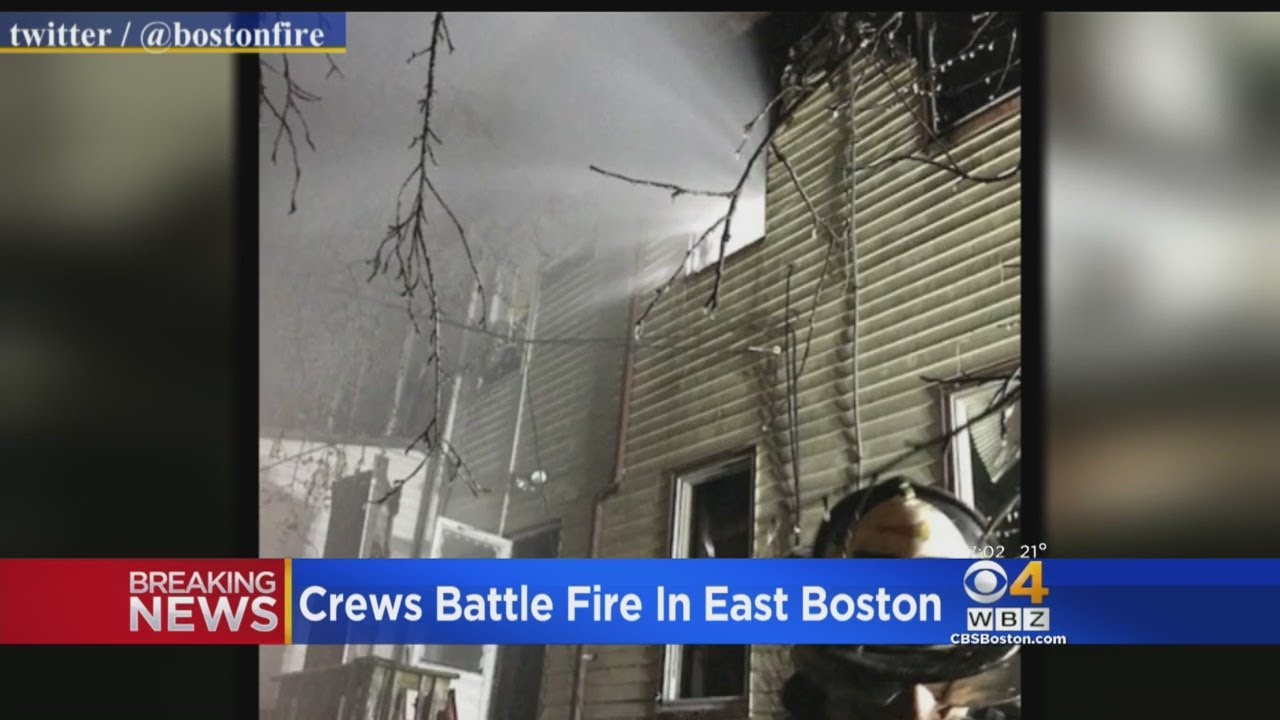 Residents Displaced By East Boston Duplex Fire