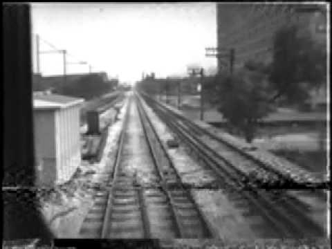 Back In The Day BW Dubs CTA Howard ST B TrainSubway NB PART TWO.mov