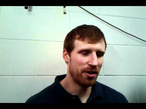 Spurs forward Matt Bonner postgame interview after beating the Celtics