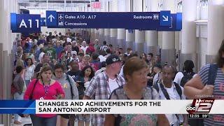 San Antonio International Airport hits milestone