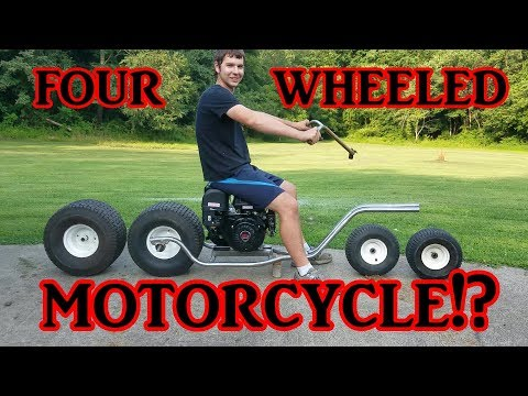 Four Wheeled Motorcycle part 1 (Frame)