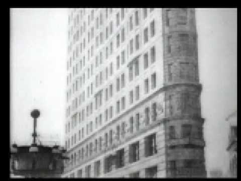 Panorama of Fuller (Flatiron) Building, New York City 1902