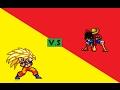 Luffy V.S Goku | REMATCH - Sprite Battle