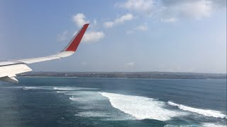Video AirAsia Indonesia A320(SL) Landing in Bali, Indonesia download MP3, 3GP, MP4, WEBM, AVI, FLV Juni 2018