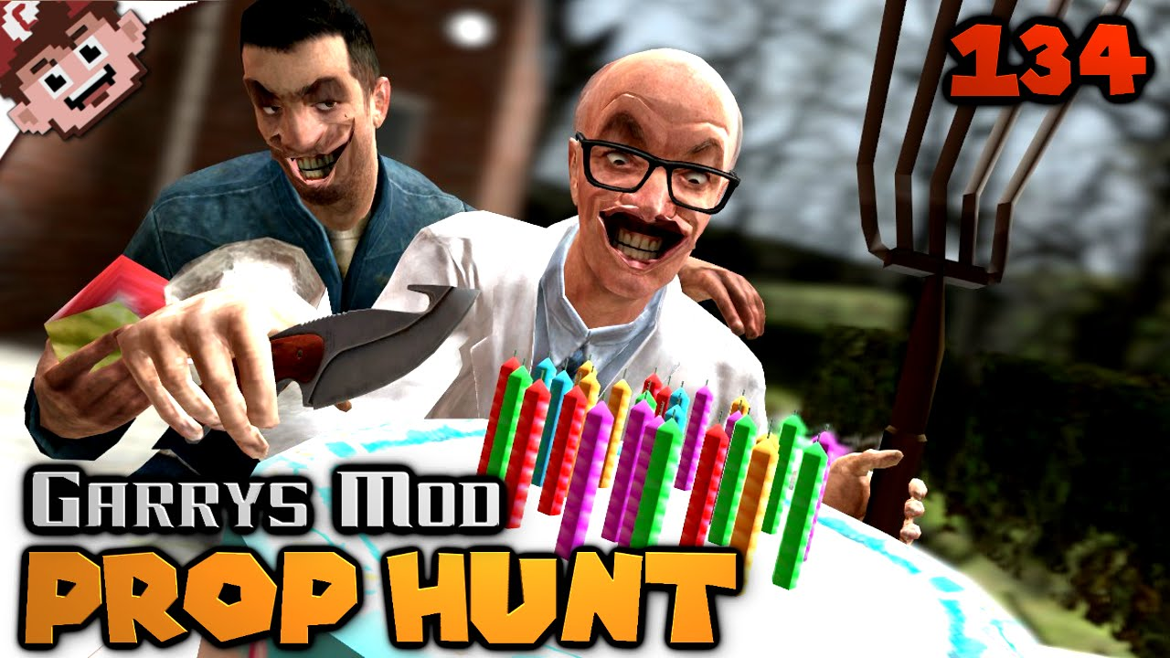 The Creepy Old Man Birthday Party Prop Hunt
