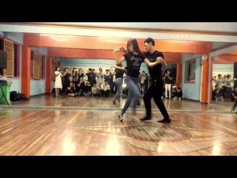 Jay K y Lucy - Salsa class - 제이케이&루시 살사 강습 20151021