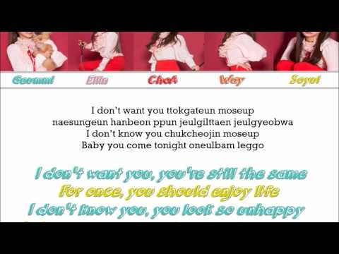 Crayon Pop -  Boogie Woogie [Color Coded / ENG]