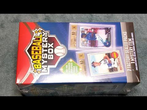 New Baseball Cards Mystery Box From Walmart! Graded Card? $$