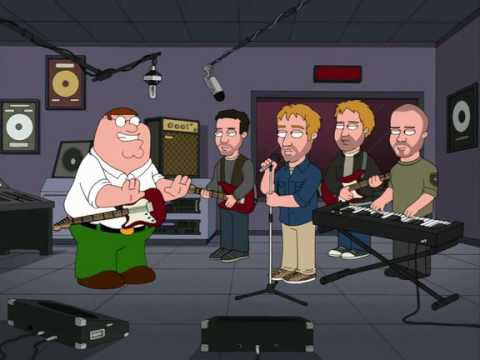 Family Guy - Peter gets kicked out of Coldplay