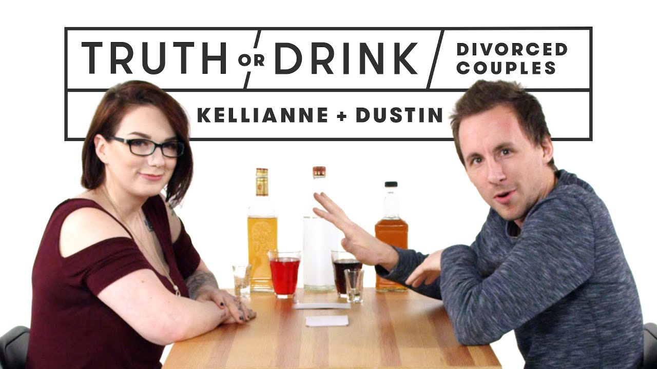 Divorced Couples Play Truth or Drink (Kellianne & Dustin) | Truth or Drink | Cut