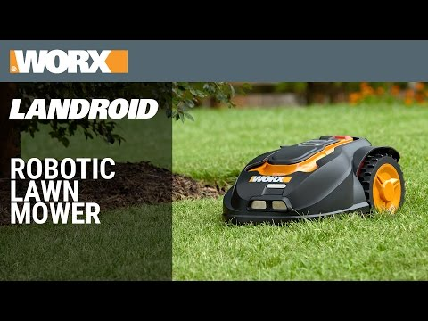 worx landroid m cordless 28v maxlithium 7 robotic lawn mower youtube. Black Bedroom Furniture Sets. Home Design Ideas