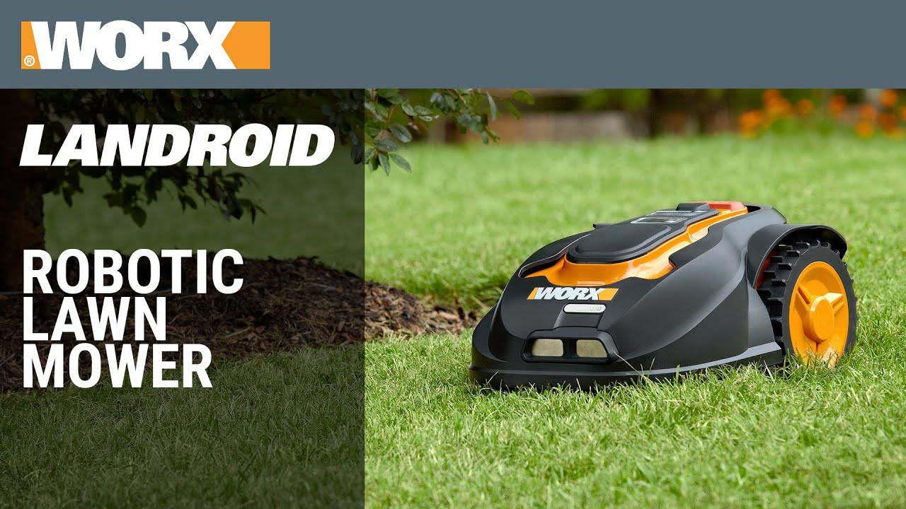 Worx Landroid M Cordless 28v Maxlithium 7 Quot Robotic Lawn