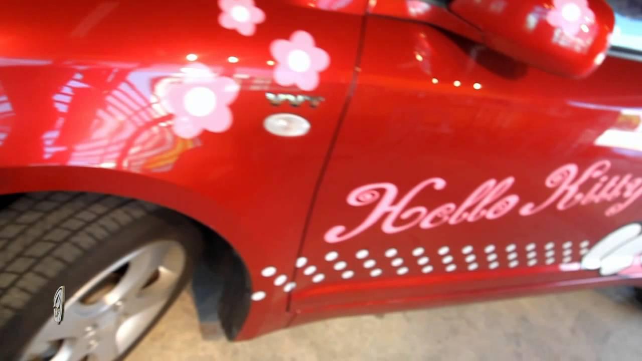 Hello Kitty Carwrap Interview 2013 Youtube