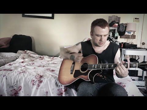 Daze – acoustic,  on bed in bedroom