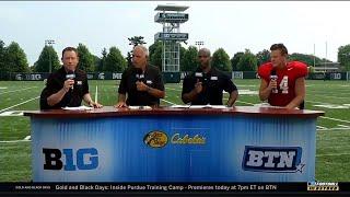 BTN Bus Tour: Brian Lewerke on Summer Workouts | Michigan State Spartans | Big Ten Football