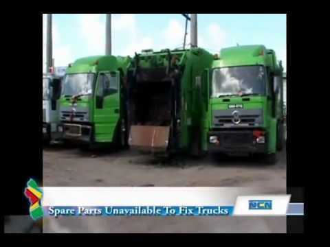 No spare parts stall city garbage collection, several garbage trucks down
