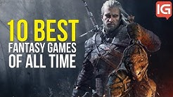 10 Best Fantasy Video Games