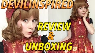 Devilinspired Dress UNBOXING and REVIEW ☆ Neverland Lolita ☆ Chinese Palace Lanterns
