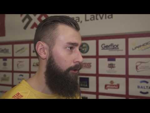Men's WFC 2016 - LAT v SWE - Post Game Interview