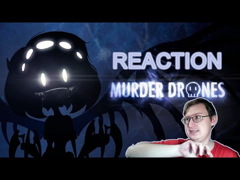 Murder Drones (Teaser) | Liam Vickers Animation | Russian Reaction