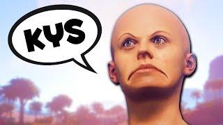 LANDMINE TROLLING SALTY KIDS - Rust Funny Moments ft. Faceless
