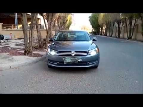 2014 Volkswagen PASSAT LED Daytime Running Light _ Headlights