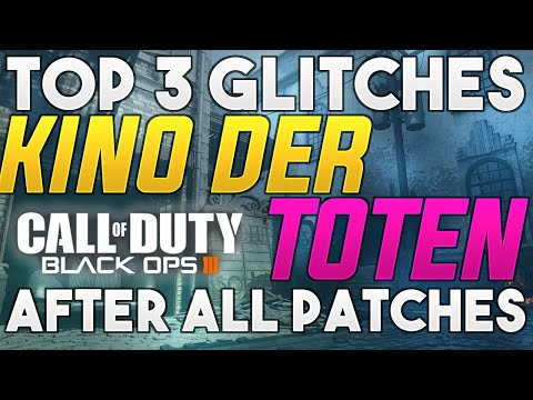 TOP 3 KINO DER TOTEN Glitches Black Ops 3 Zombies Glitches Kino BO3 Zombies Glitches 2020 SOLO/TEAM
