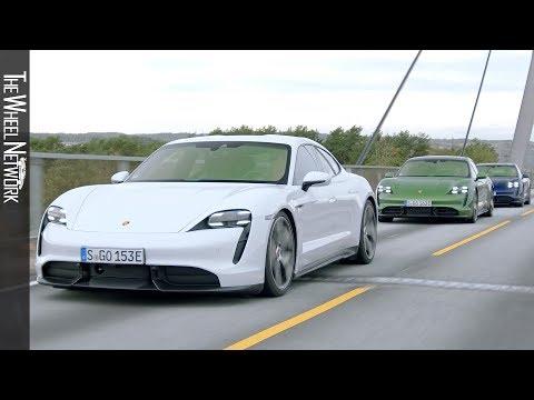 2020 Porsche Taycan – Media Drive Event Norway