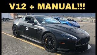 homepage tile video photo for V12 Greatness? Aston Martin V12 Vantage S AMR - One Take
