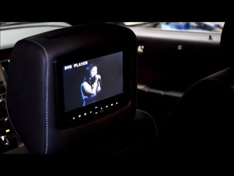 Ford Flex Rosen Av7900 Headrest Dvd Installation North York Toronto Youtube