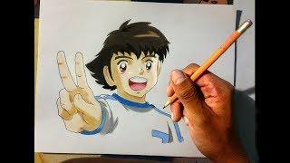 Cómo dibujar a Oliver Atom | How to draw Captain Tsubasa