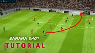 How to perform Banana Shot Perfectly __Pes 19 Mobile