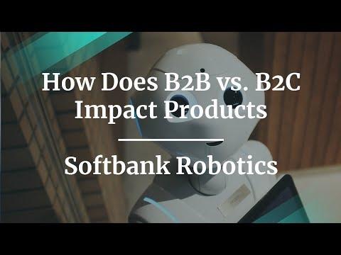 How Does B2B vs. B2C Impact Products by Softbank Robotics PM