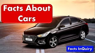 10 Facts About Cars - Interesting Cars Facts Which You Probably Didn't Know - Facts Inquiry