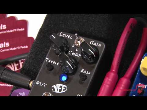 Summer NAMM '12 - VFE Pedals Dark Horse Distortion & White Horse Compressor Demos